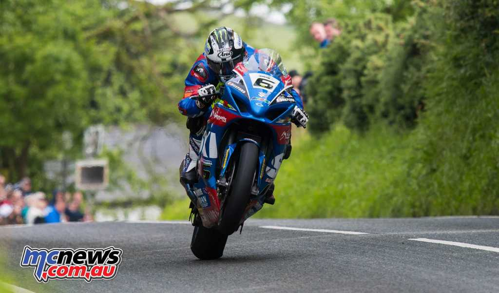 Michael Dunlop will be on a Tyco BMW for TT 2018