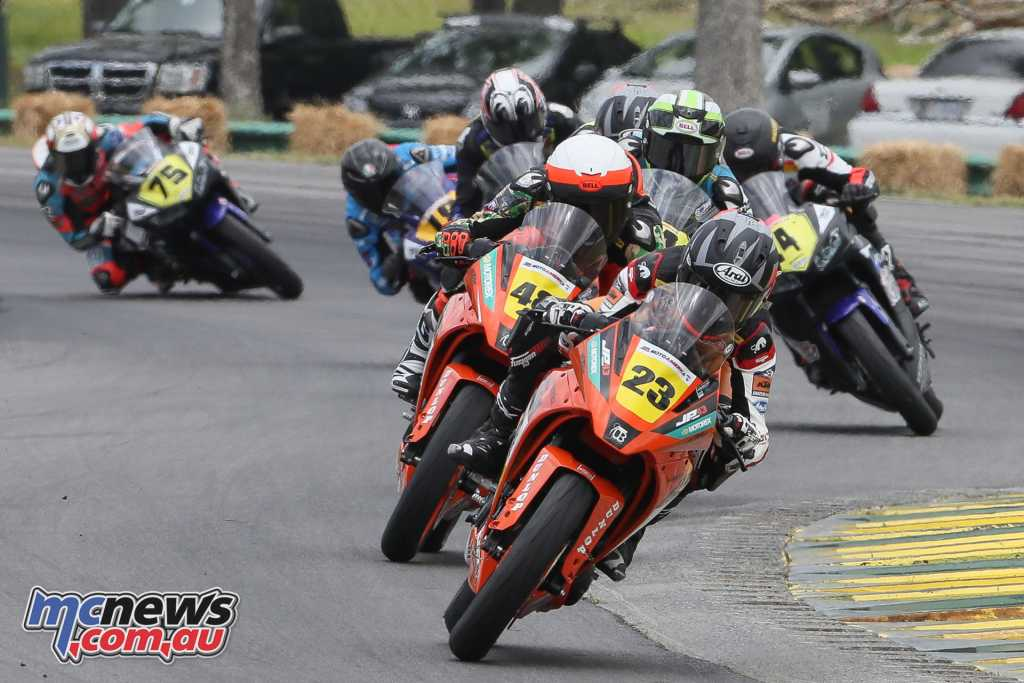 Alex Dumas proved the rider to beat in the Junior Cup