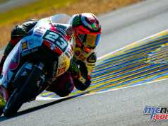 Moto2 and Moto3 test at Le Mans