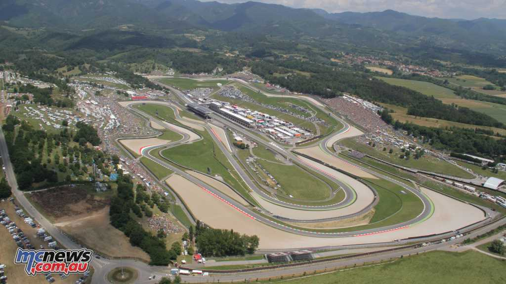 Mugello Circuit from the air