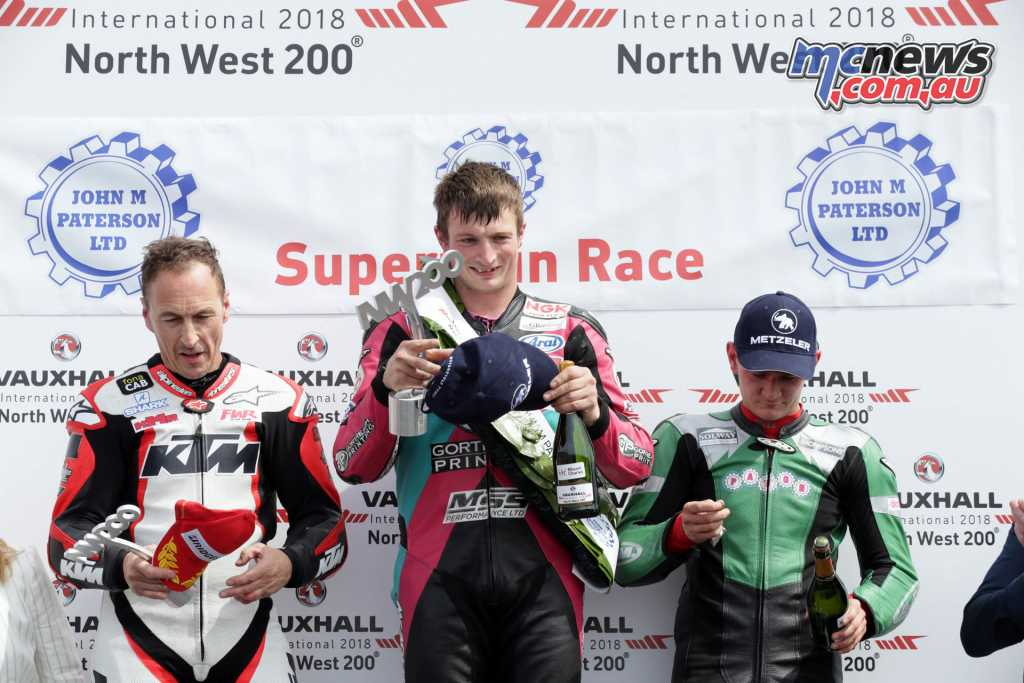 North West 200 - Supertwin Podium -