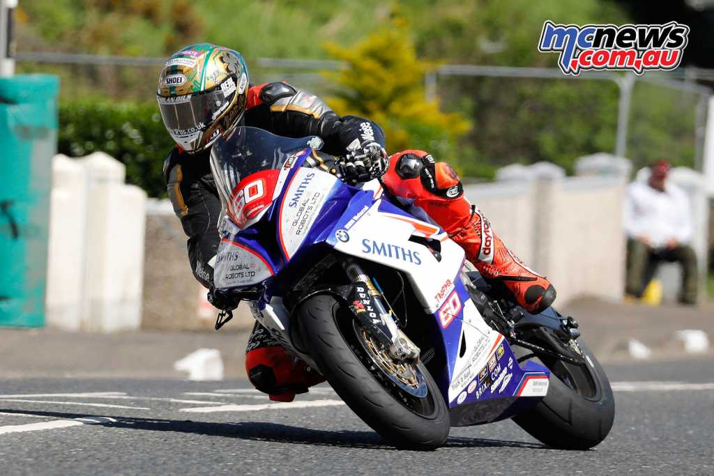 Peter Hickman took the Thursday Superstock race win