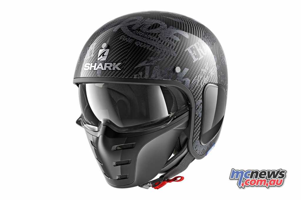 The Shark S-Drak Helmet is available from $529.95 RRP for the Carbon Skin