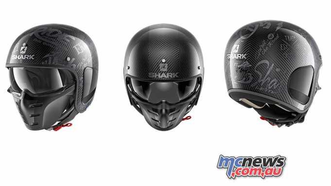 Ficeda introduce the Shark S-Drak Helmet