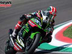 Jonathan Rea leads the WorldSBK championship to Donington