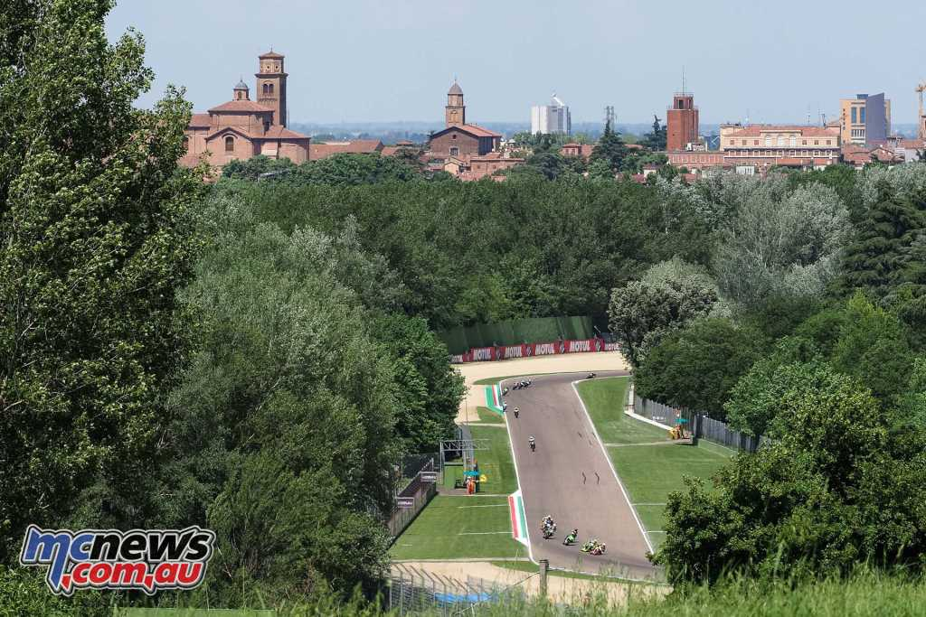 World Supersport 300 at the picturesque Imola