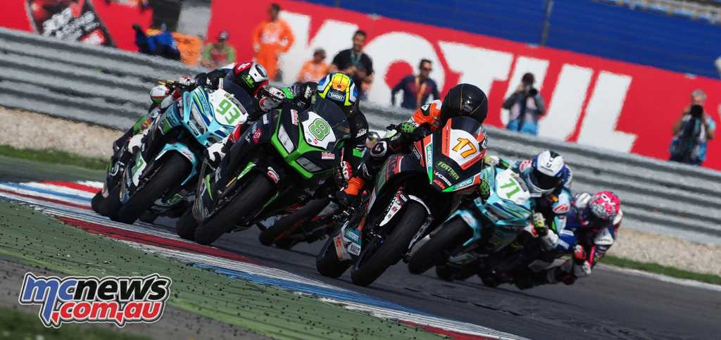 World Supersport 300 will see fierce competition with Scott Deroue leading the standings into Imola