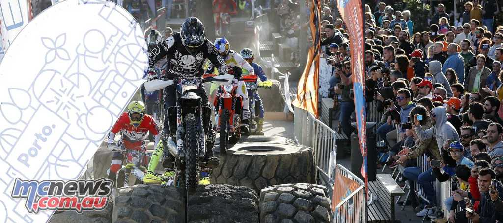 World Enduro Super Series - Round One - Extreme XL Lagares in Portugal - Endurocross - Kevin Gallas