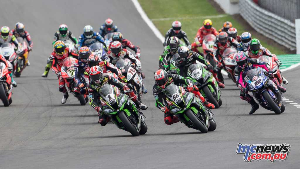 Rea and Sykes took an early lead but it was Van Der Mark's day