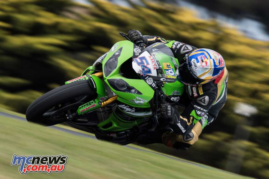 Kenan Sofuoglu at Phillip Island earlier this year