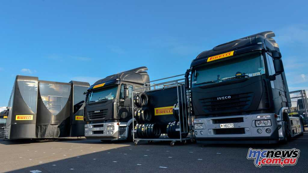 Pirelli heads to Donington