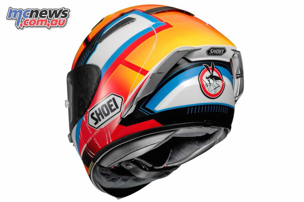Shoei's X-Spirit III De Angelis Replica