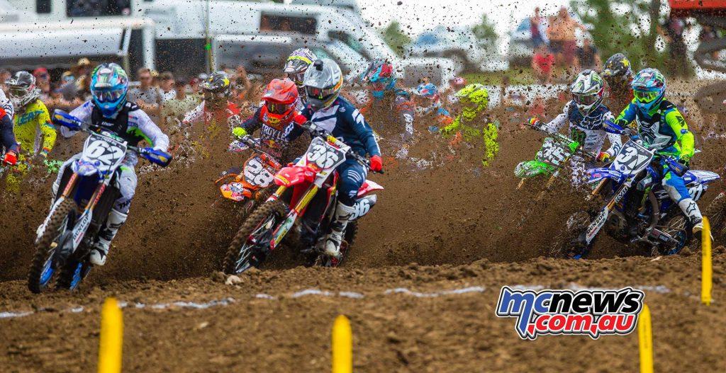 AMA MX Justin Cooper Starts MX JK Muddy Creek