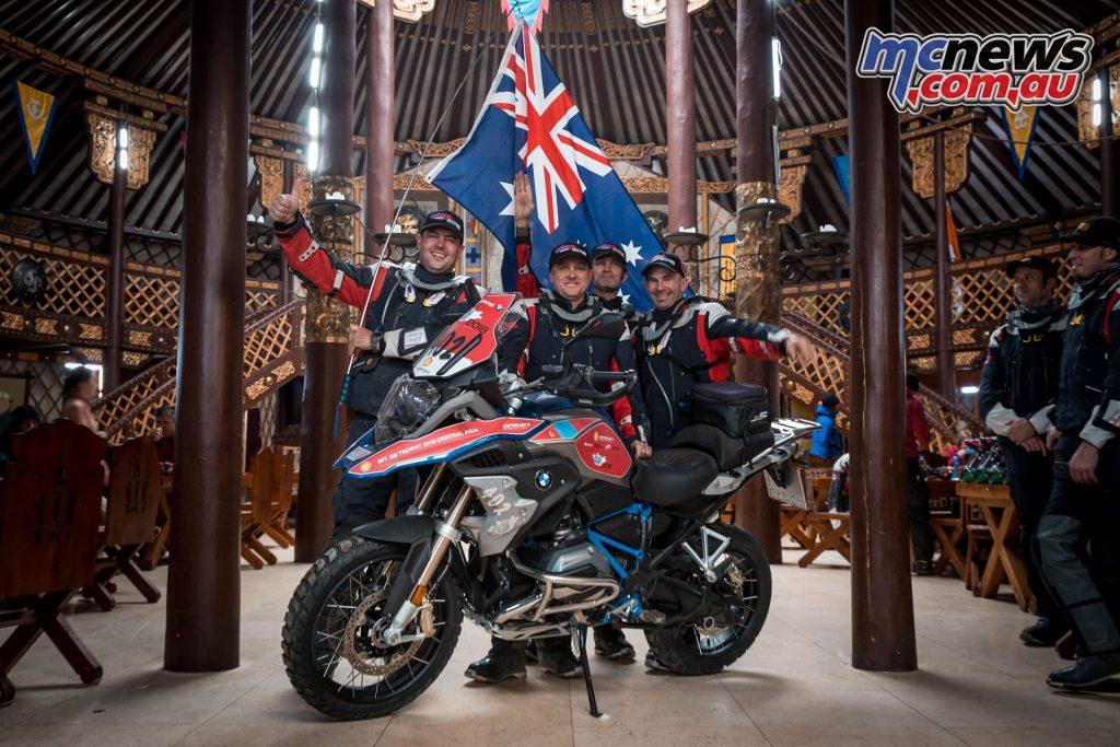 BMW International GS Trophy Mongolia 2018 - Team Australia