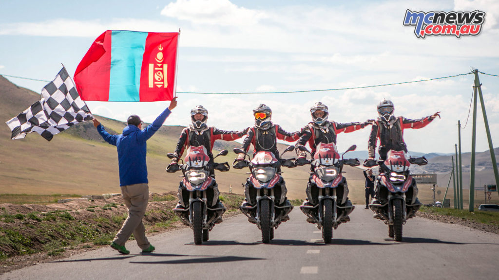 2018 BMW Motorrad International GS Trophy Central Asia - Winners South Africa