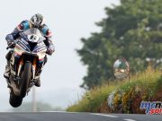Michael Dunlop at Friday Qualifying