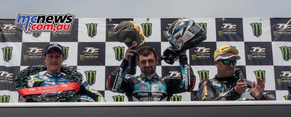 Michael Dunlop moves up to equal third place in the all time TT winners list with his 17th victory