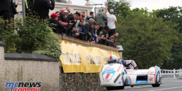 Ben & Tom Birchall won the Sidecar TT, breaking their own lap records and the race record in the process