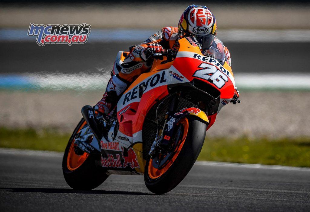 MotoGP Assen Fri Dani pedrosa