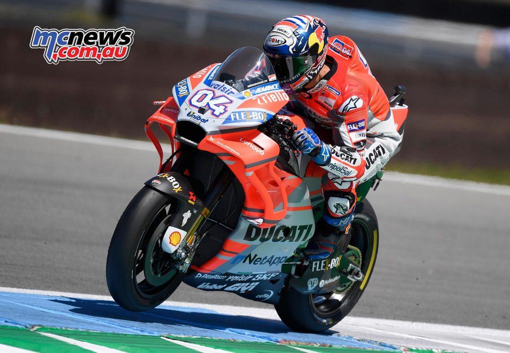 MotoGP Assen Fri Dovizioso