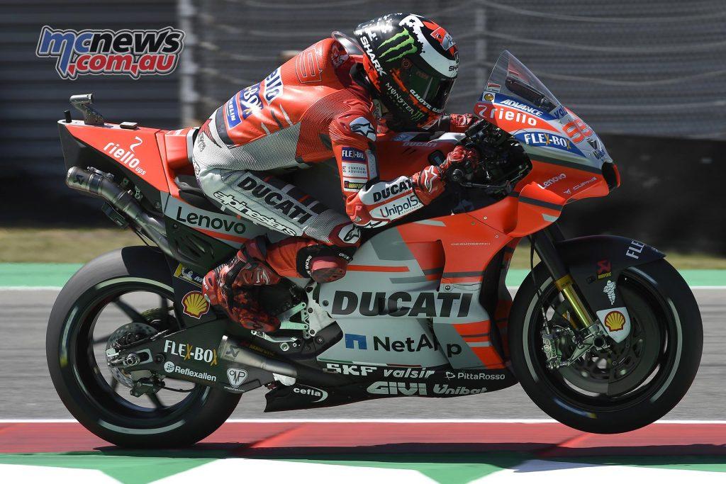 MotoGP Assen Fri Lorenzo