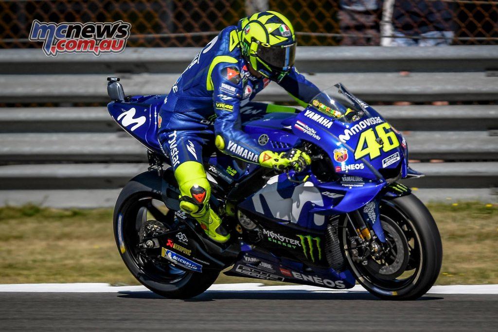 MotoGP Assen Fri Rossi