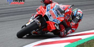 Lorenzo dominated from the front