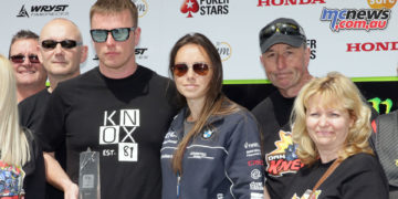 Ryan Kneen with family awarded 2018 PokerStars Spirit of the TT Award