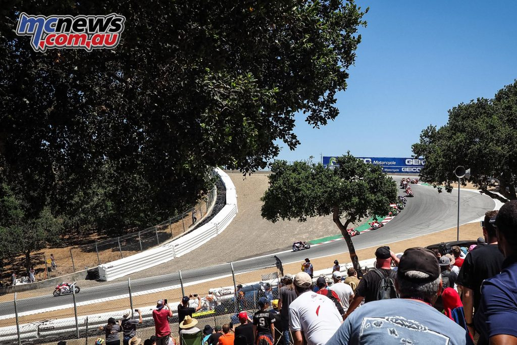 WSBK Laguna Seca Race Atmos