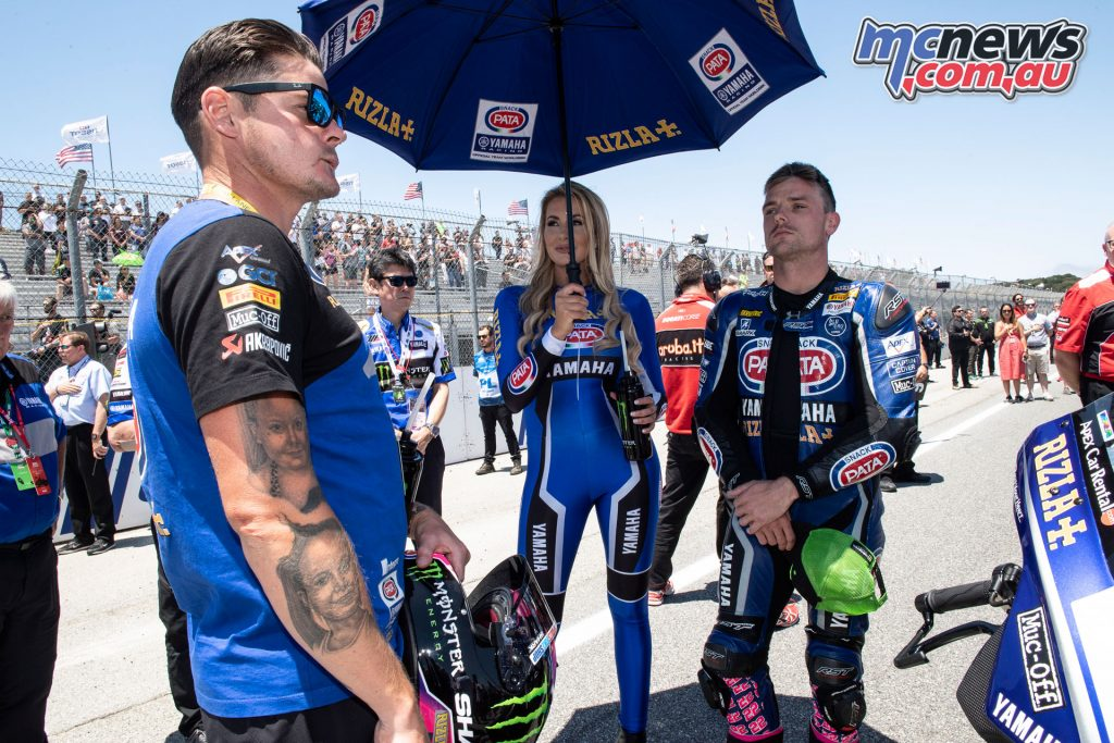 WSBK Laguna Seca Race Lowes