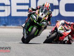 WSBK Laguna Seca Race Rea Davies ImageSnap