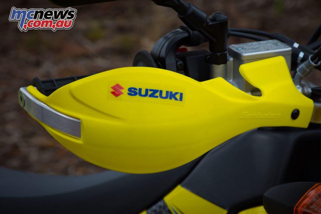2019 Suzuki DR-Z400E hand guards