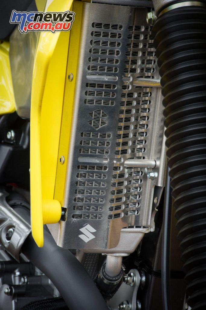 2019 Suzuki DR-Z400E radiator guard