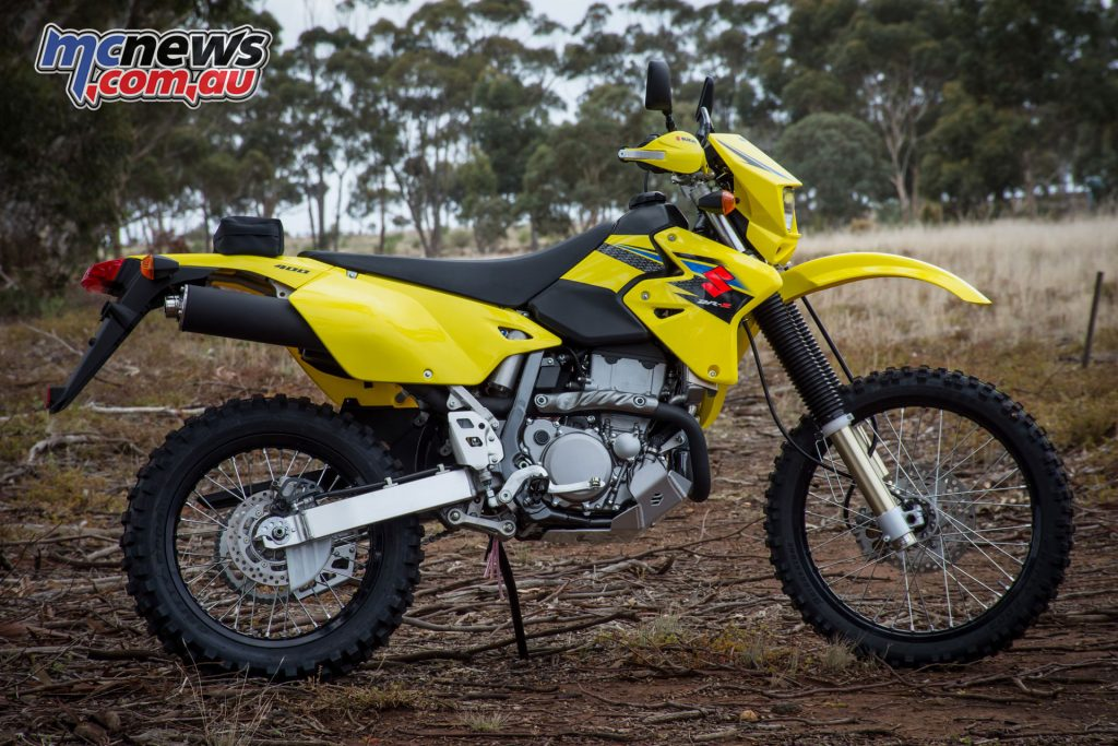The 2019 Suzuki DR-Z400E is available at unchanged pricing