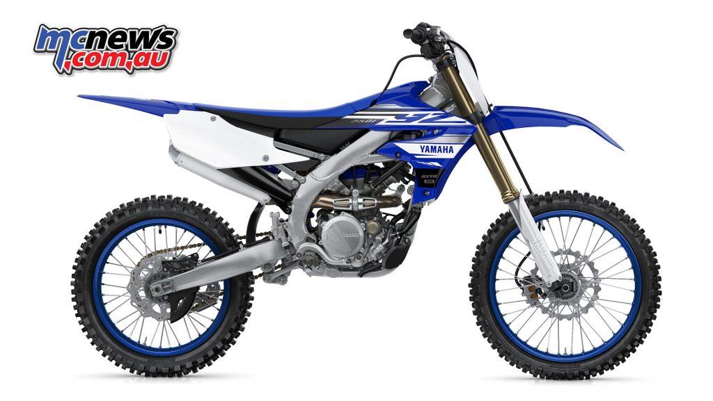 2019 Yamaha YZ250F in Team Yamaha Blue and White