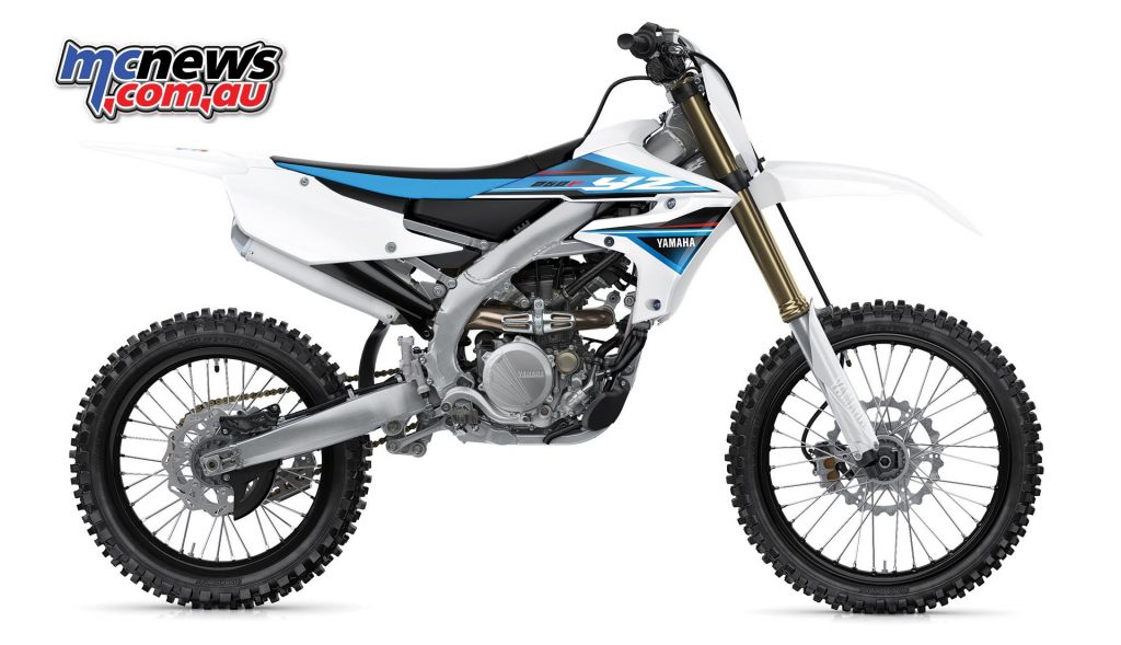 2019 Yamaha YZ250F in Competition White