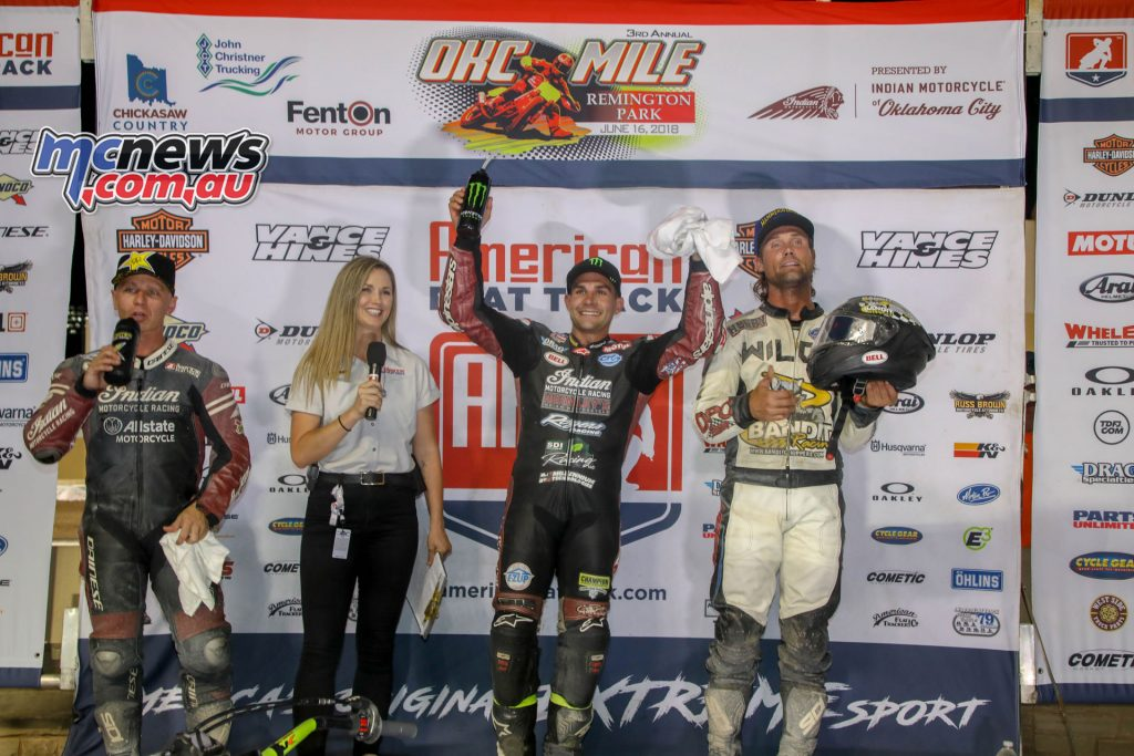 AFT Twins Podium - OKC Miles Oklahoma - AFT 2018