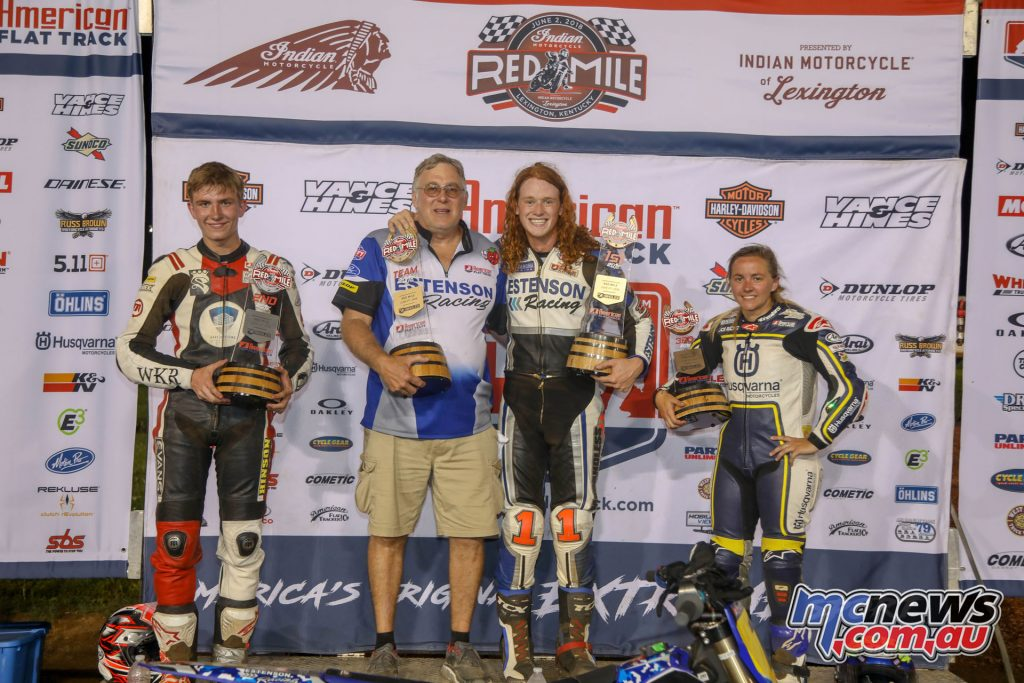 Kolby Carlile topped the AFT Singles Main Event podium at Red Mile