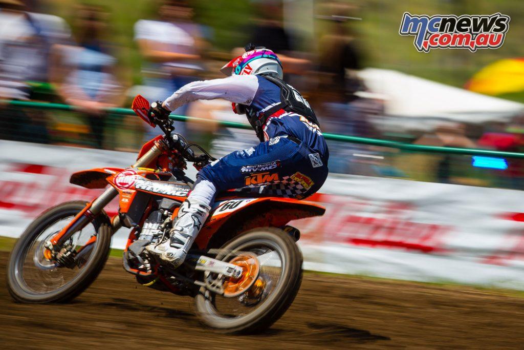 AMA Motocross Round 3 at Lakewood - Benny Bloss