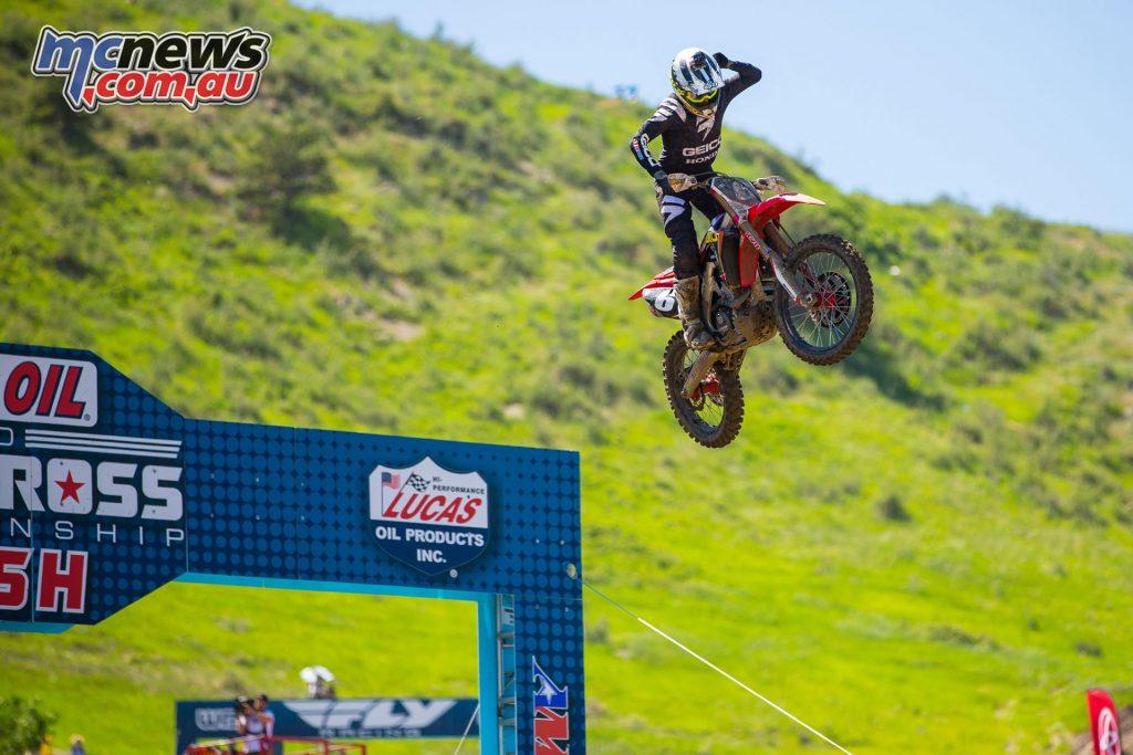 AMA Motocross Round 3 at Lakewood - Jeremy Martin