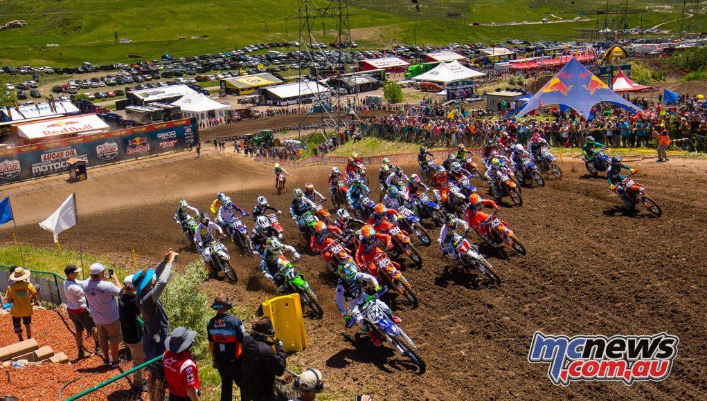 AMA Motocross Round 3 at Lakewood - 250MX Start