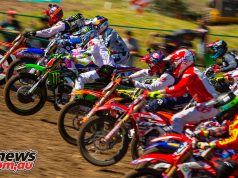 AMA Motocross Round 3 at Lakewood - 450MX Start