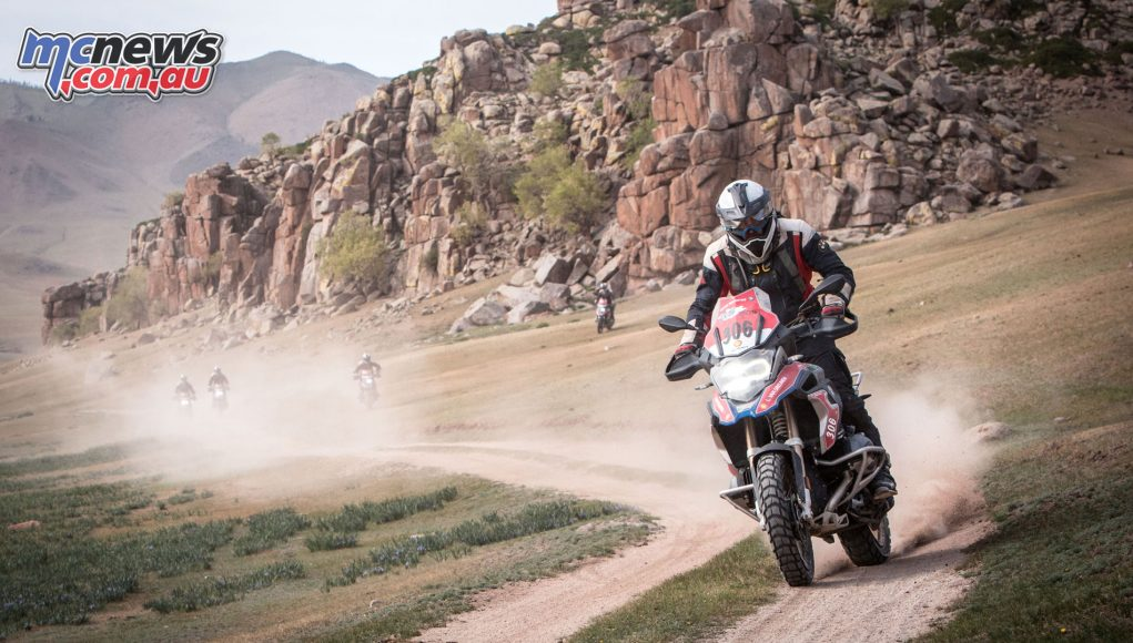 BMW International GS Trophy Mongolia 2018