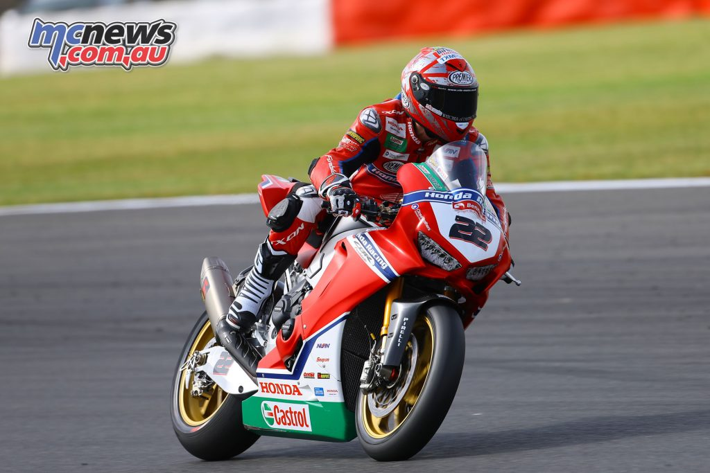 Jason O'Halloran was victim to another rider in Race 1 ending his weekend, he's undergoing scans