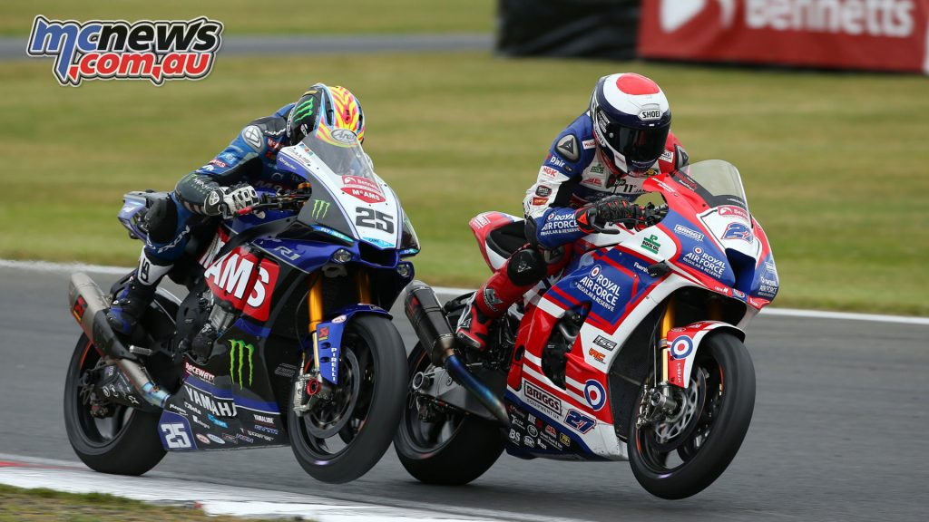 Josh Brookes and Jake Dixon