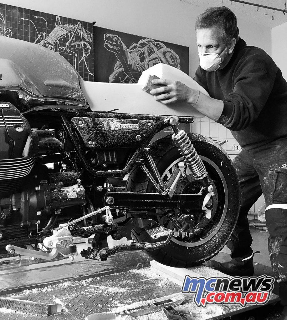Gannet Custom Moto Guzzi V9 Cafe Racer