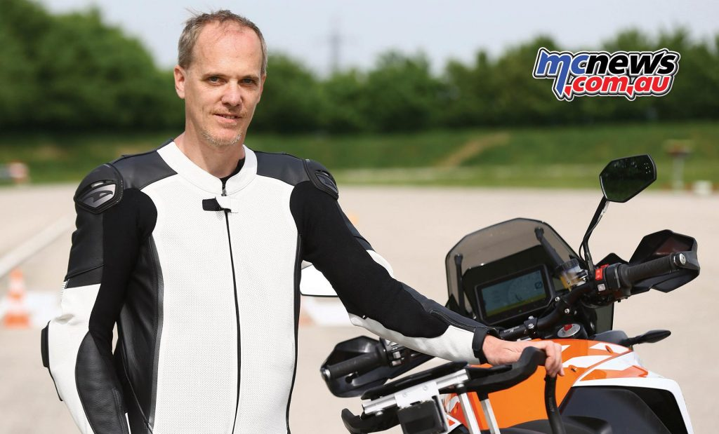 Gerald Matschl, Vice President for KTM Research & Development
