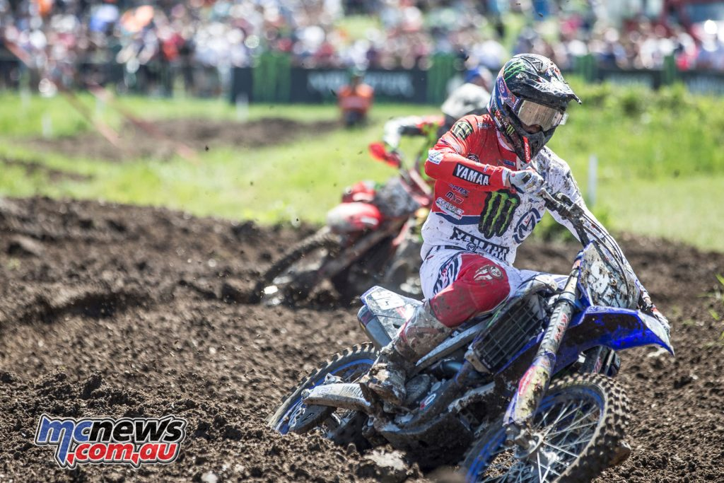Ben Watson was fourth in Moto 2