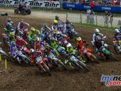 Jorge Prado leads the MX2 field - Image by Ray Archer
