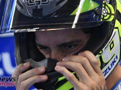 Andrea Iannone with Suzuki MotoGP 2019-20